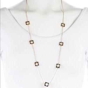 Kate Spade gold spade scatter necklace